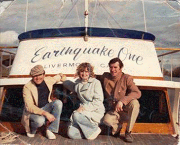 CHRIS CHARLOTTE MIKE EARTHQUAKE ONE 1981